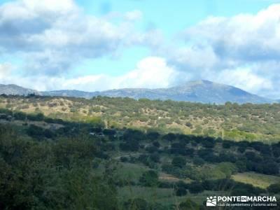 Cárcavas del Río Perales - Sierra Oeste de Madrid; rutas de senderismo cerca de madrid